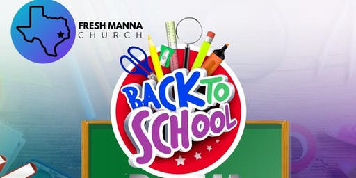 Fresh Manna's Back To School Bash