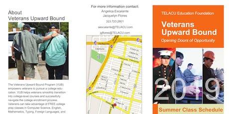 Free Veterans Classes for Summer 2019 - AM Orientation tickets