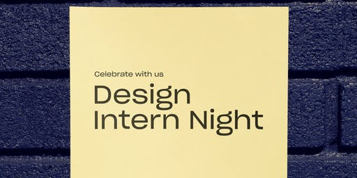 Mixer: Design Intern Night
