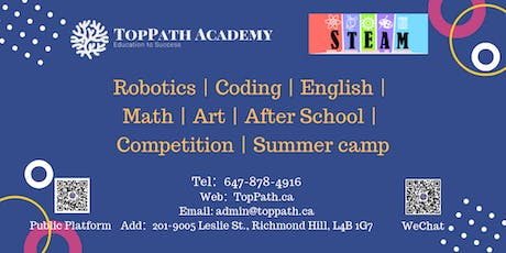STEM Robotics Club Members Free Activities tickets