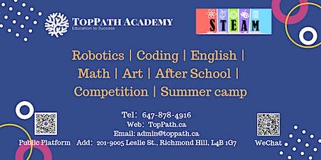 STEM Robotics Club Members Free Activities tickets