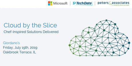 Cloud by the Slice: Chef-Inspired Solutions Delivered tickets