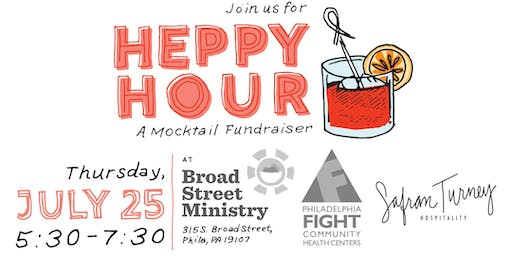 """The """"Heppy"""" Hour: A Mocktail Fundraiser"""