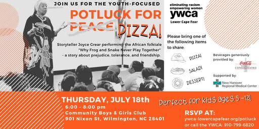 YWCA Lower Cape Fear Potluck for Peace