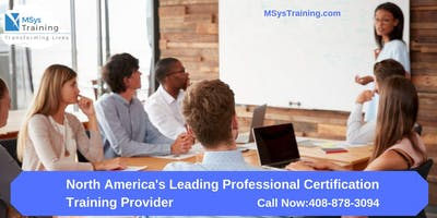 PMP (Project Management) Certification Training In Jackson, CO