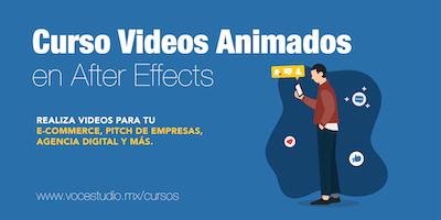 Curso de Animación / Motion Graphics