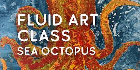 Fluid Art Class – Sea Octopus tickets