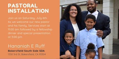Pastoral Installation - Pastor Hananiah E. Ruff tickets