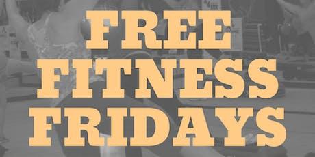 Free Fitness Friday tickets