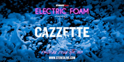 Electric Foam feat. Cazzette - Houston
