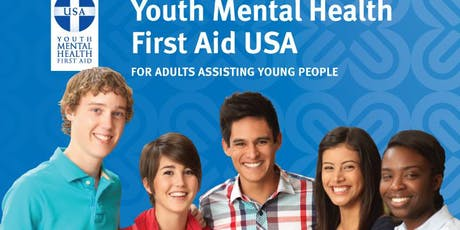 Youth Mental Health First Aid-August 7 tickets