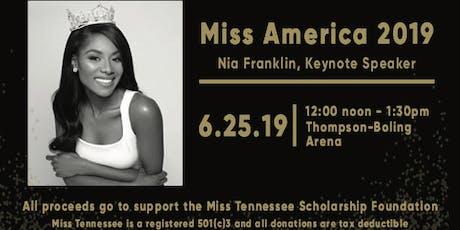 Miss America Luncheon tickets