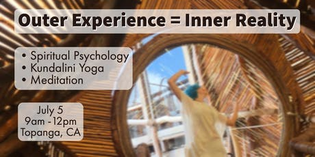Outer Experience = Inner Reality tickets
