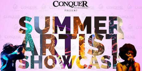 Conquer Summer Artist Showcase tickets