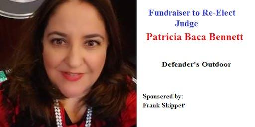 Funder Raiser to Re-Elect Judge Patricia Baca Bennett