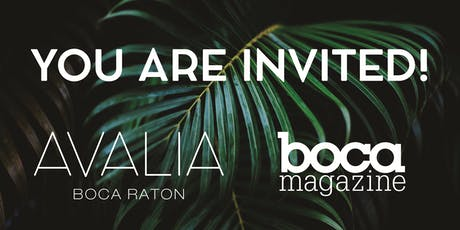 Avalia's Grand Reveal Cocktail Party tickets