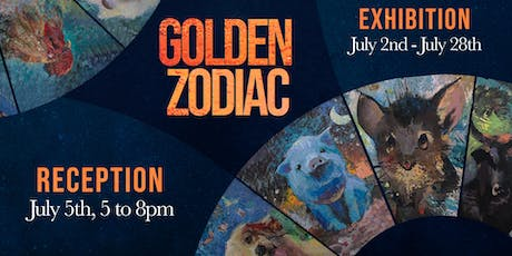Golden Zodiac, an exhibit by Muse Art Club / Reception night tickets