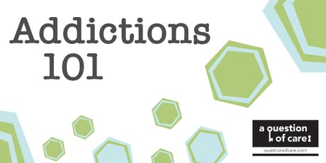 Addictions 101: Exploring Substance Use and Gambling | November 2019 tickets