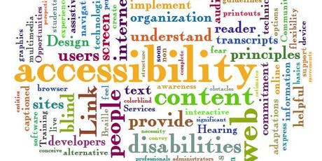 Accessibility in Web and Social Media tickets