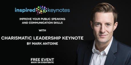 Charismatic Leadership Keynote tickets