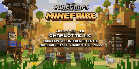 Minefaire: Official MINECRAFT Community Event (Charlotte, NC) tickets