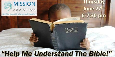 Help Me Understand The Bible! tickets
