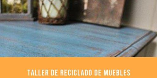 Curso de Reciclado de muebles y objetos en Pasteur y Lavalle