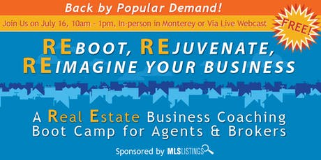 REboot, REjuvenate, REimagine Your Business tickets