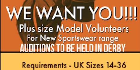 Volunteer Model Casting / Audition tickets