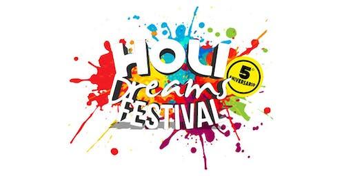 Holi Dreams Festival 2019    -   5º ANIVERSARIO