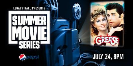 Pepsi Summer Movie Series: Grease tickets