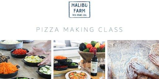 Pizza Making Class at Malibu Farm