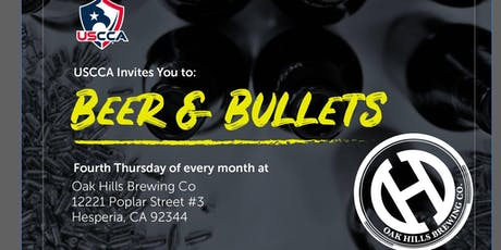 Beer & Bullets with the USCCA tickets