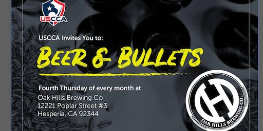 Beer & Bullets with the USCCA