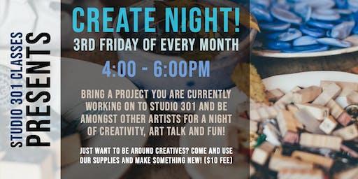Huntsville Creatives Create Night!