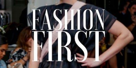 Fashion First 12 July 2019 tickets