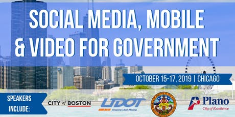 Social Media, Mobile & Video for Government tickets