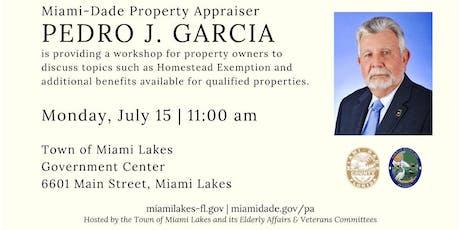 Property Appraiser Workshop tickets