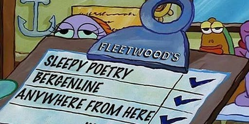 Sleepy Poetry // Bergenline // Anywhere From Here