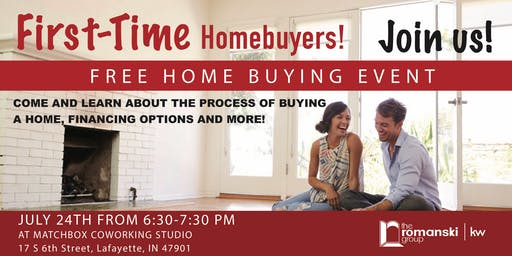 First Time Homebuyers Event!
