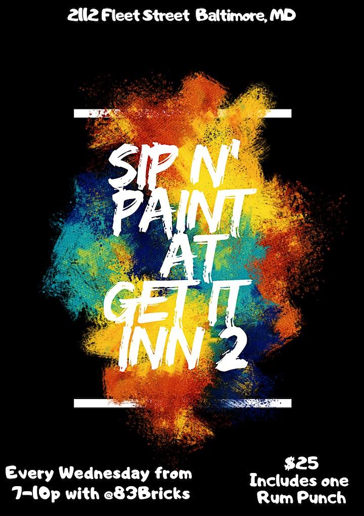 Sip N Paint Wednesdays Get It Inn Ii Tickets Wed Jan 1
