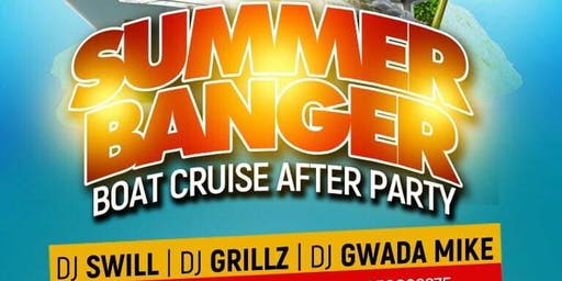 CORK SUMMER BANGER |+| BOAT CRUISE AFTER PARTY