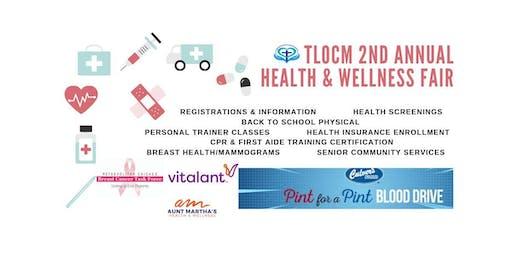 2nd Annual Health & Wellness Fair