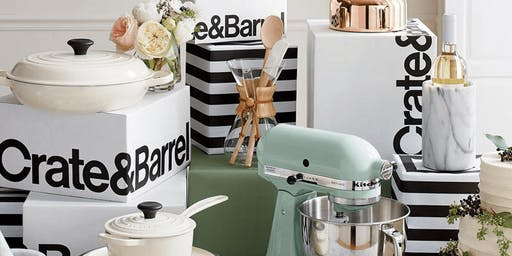 Crate and Barrel Hiring Event