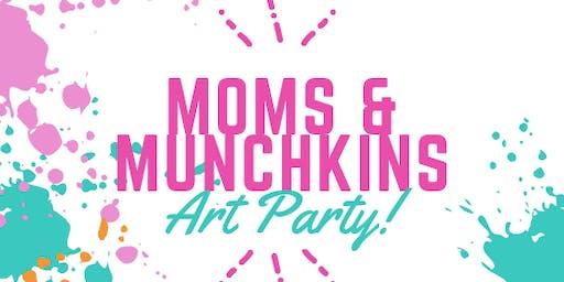Moms & Munchkins: Art Party