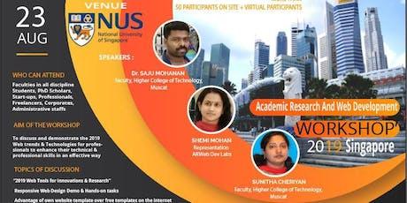 Academic Research and Web Development Workshop (ARWDW 2019) tickets