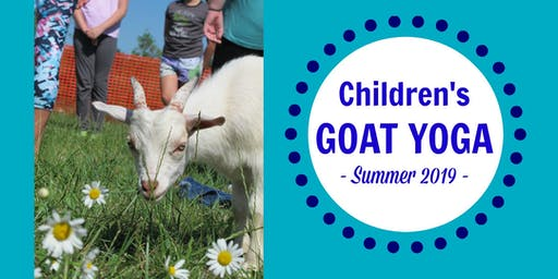 Children's Goat Yoga 2019
