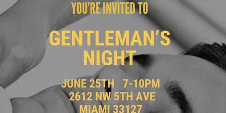 Gentleman's Night tickets
