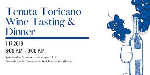 Tenuta Toricano Wine Tasting & Dinner Hosted by Schmoyer & Company, LLC