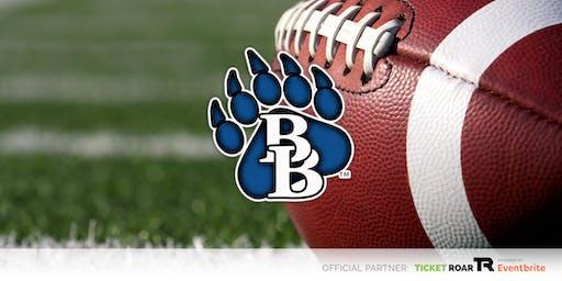 Brewer vs Chisholm Trail Varsity Football